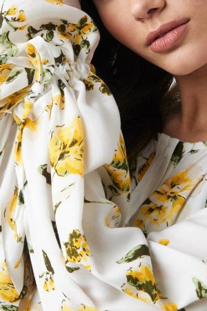Rochie Tie Sleeve Midi [2]