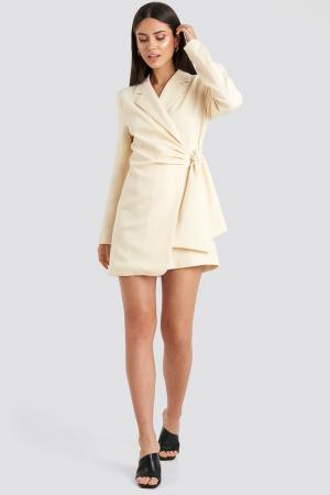 Rochie Sacou Tie Waist Blazer [2]