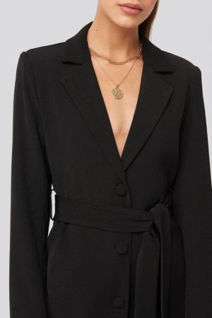 Rochie Tie Waist Short Blazer [2]