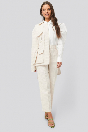 Pantaloni Tweed Suit Pants [3]