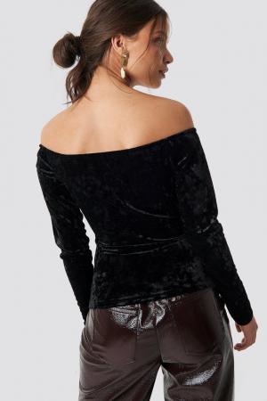 Bluza Velvet Off Shoulder Top1