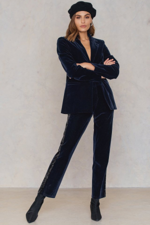 Pantaloni Velvet Striped [3]