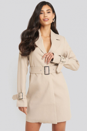 Rochie Sacou Wide Belted [0]