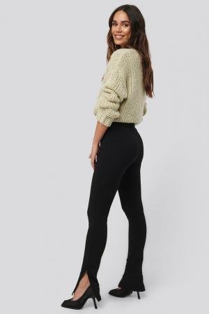 Pantaloni Zip Detail Long Jersey [3]