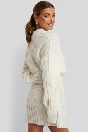 Rochie Oversized Tie Knitted [1]