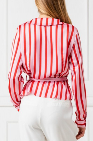 Bluza Striped Wrap2