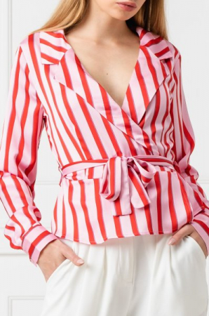 Bluza Striped Wrap0
