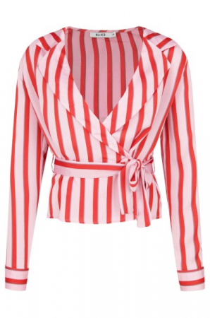 Bluza Striped Wrap4