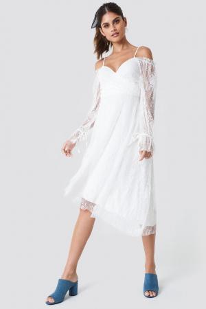 Rochie Asymmetric Lace Midi0