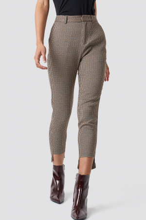 Pantaloni Asymmetrical Hem Suit [0]
