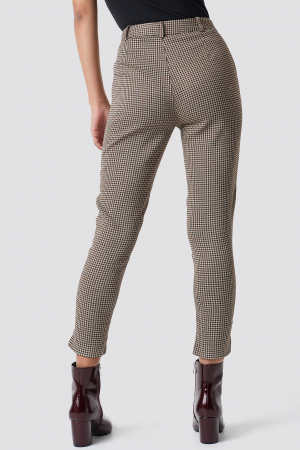 Pantaloni Asymmetrical Hem Suit [2]