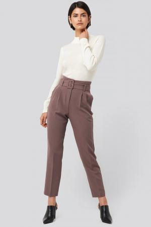 Pantaloni Belted Suit0