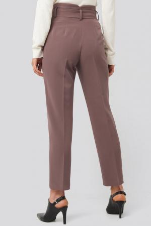Pantaloni Belted Suit2