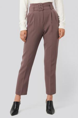Pantaloni Belted Suit1