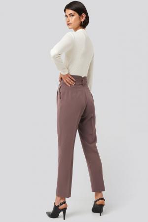 Pantaloni Belted Suit3