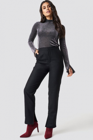 Pantaloni Front Slit Suit [3]