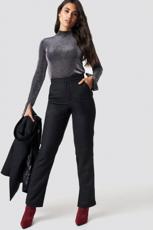 Pantaloni Front Slit Suit [0]