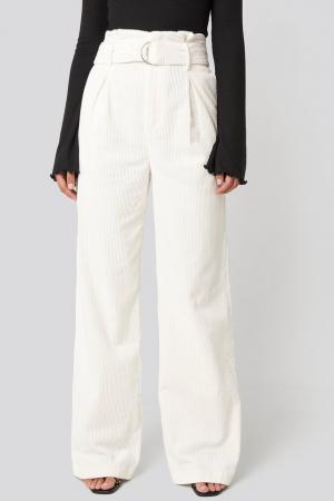 Pantaloni Paper Waist Wide Leg [2]