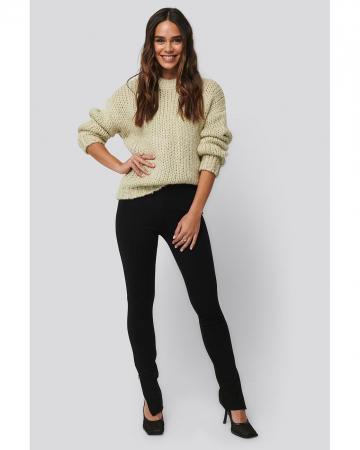 Pantaloni Zip Detail Long Jersey [0]