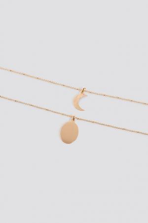Colier Double Pendant Necklace2