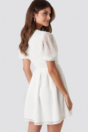 Rochie Puff Sleeve Mini Dress1