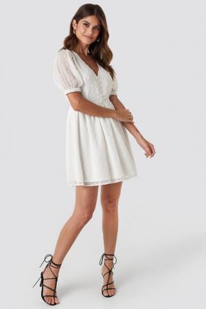 Rochie Puff Sleeve Mini Dress2
