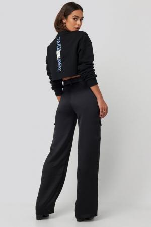 Pantaloni Satin Cargo3