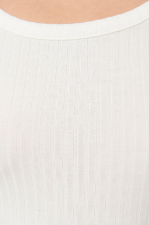 Top Ribbed Round Neck2