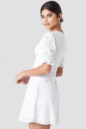 Rochie Cotton Anglaise Mini1