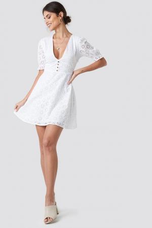 Rochie Cotton Anglaise Mini2
