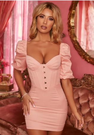 Rochie Endless Romance Puff Sleeve Mini [4]