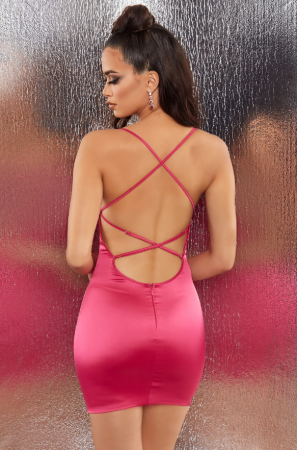 ROCHIE HEAVENS TOUCH SATIN EMBELLISHED BODYCON [1]