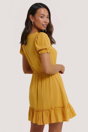 Rochie Puff Sleeve Mini [1]