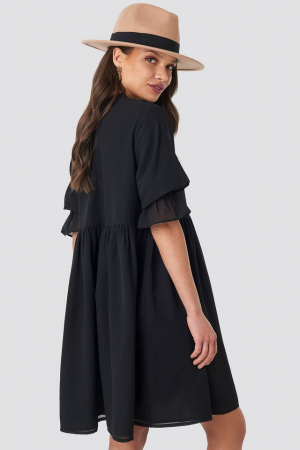 Chiffon Mini Dress [1]