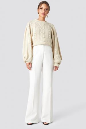 Pantaloni High Waist Bootcut0