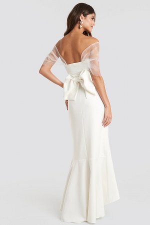 Rochie Bow Detailed Evening [1]