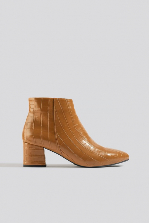 Botine  Croco Ankle [0]
