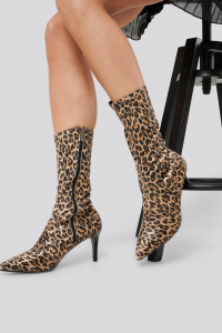 Botine Leopard Patterned Boots [1]