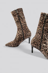 Botine Leopard Patterned Boots [4]