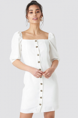 Rochie Milla Button Detailed Mini0