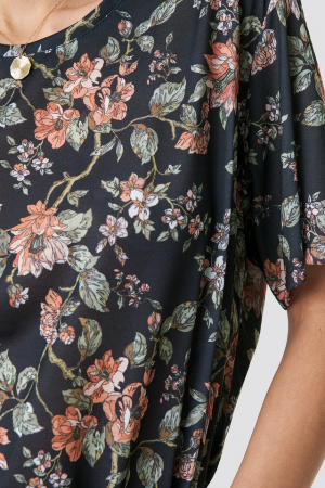 Tricou Floral Oversized Tee2