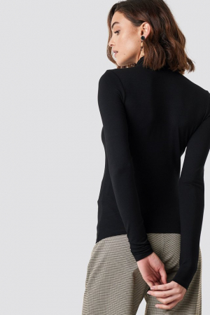 Viscose Long Sleeve Polo Top5