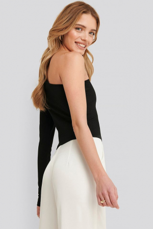 Bluza Lucy one shoulder bodycon top [1]