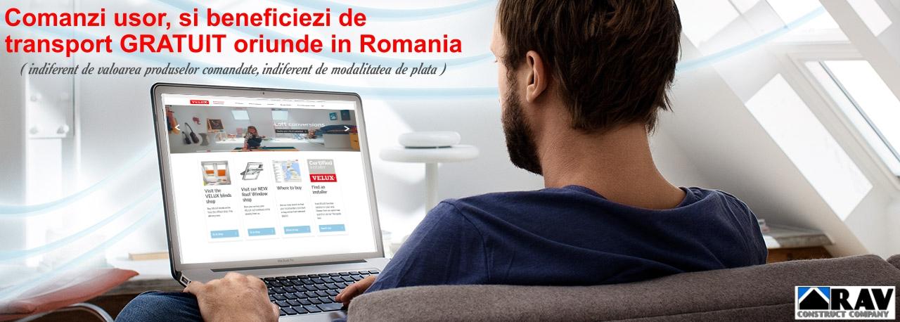 Iti oferim TRANSPORT GRATUIT oriunde in Romania