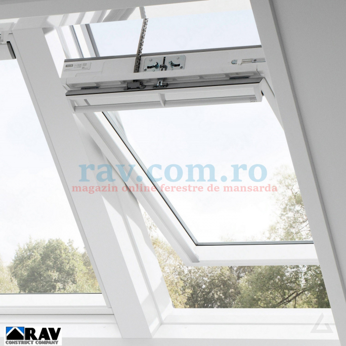 Fereastra VELUX electrica la baie 2
