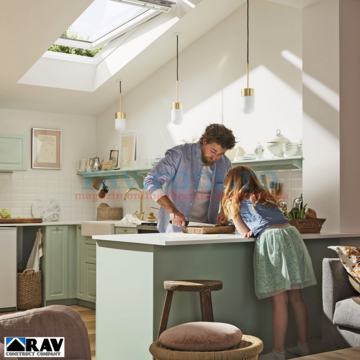 Fereastra VELUX electrica la baie 0