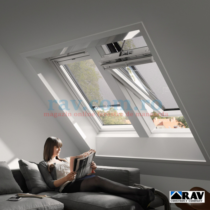 Fereastra VELUX electrica la baie 3