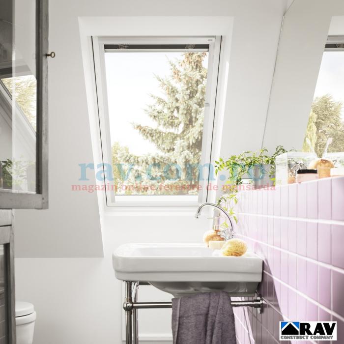 Fereastra VELUX pentru baie cu doua foi de sticla - GLU 1051 0