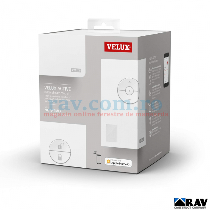 Kit control climatic VELUX ACTIVE 3