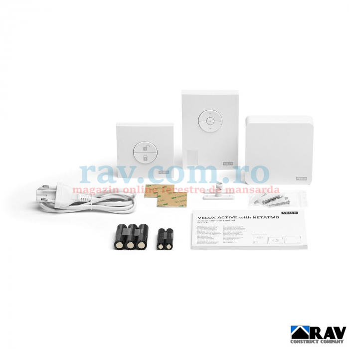 Kit control climatic VELUX ACTIVE 5